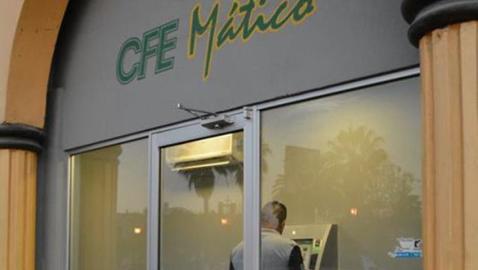 Ya funciona el cajero de la CFE