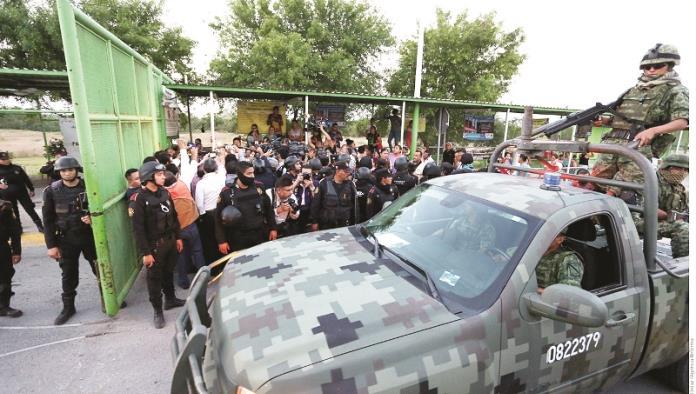 Deja 2 muertos nuevo motín en Cadereyta