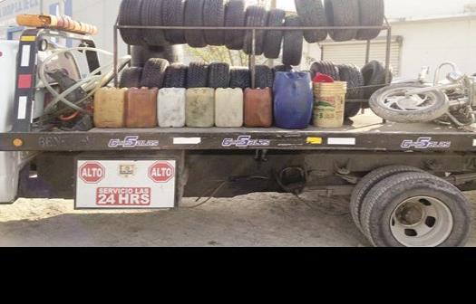 Vendía combustible de forma ilegal