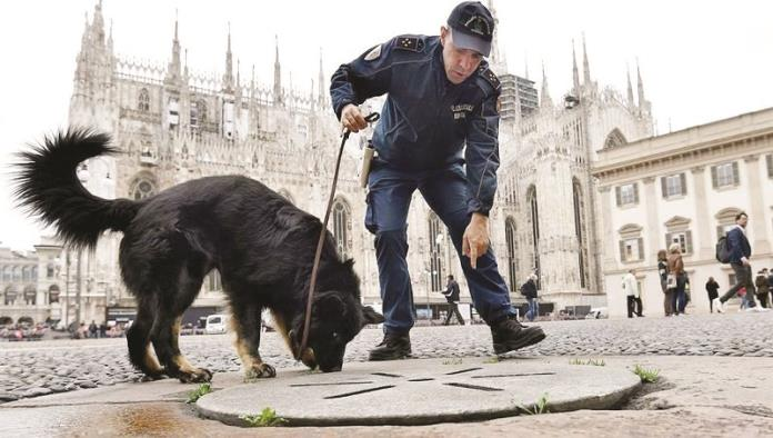 Elevan seguridad en Milán por el Papa