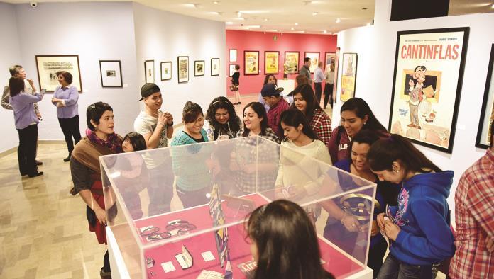 Último mes en Museo Pape  de la exposición Cantinflas