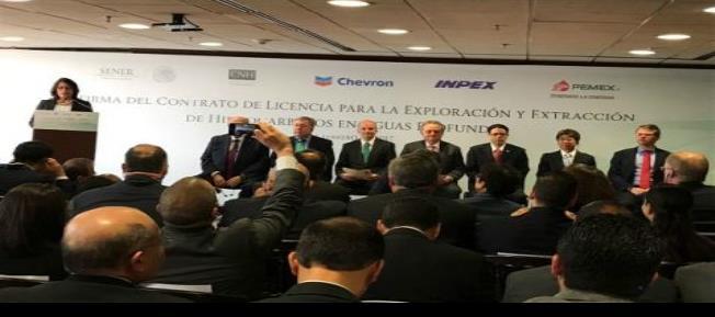 Pemex firma primera alianza para exploración en aguas profundas
