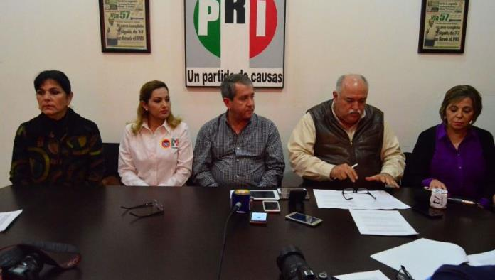 Abogan diputados del PRI por acero