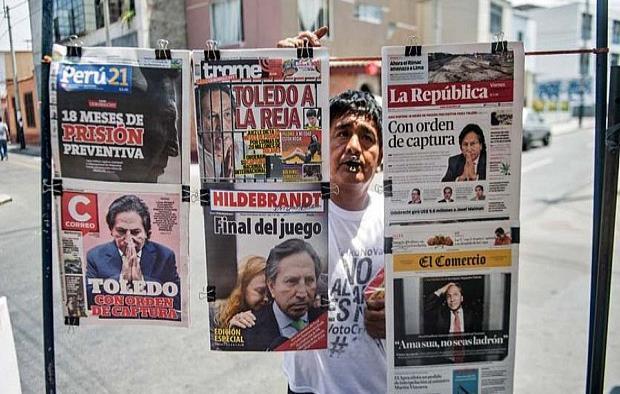 Ofrecen recompensa por  expresidente peruano