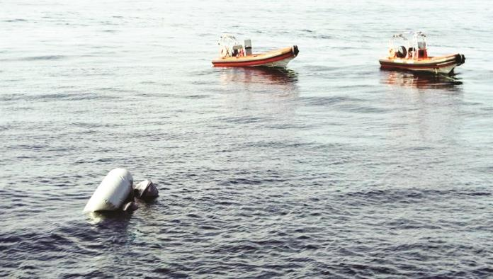Rescatan a mil migrantes en el mar Mediterráneo