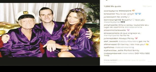Scarlett Byrne salió en Playboy