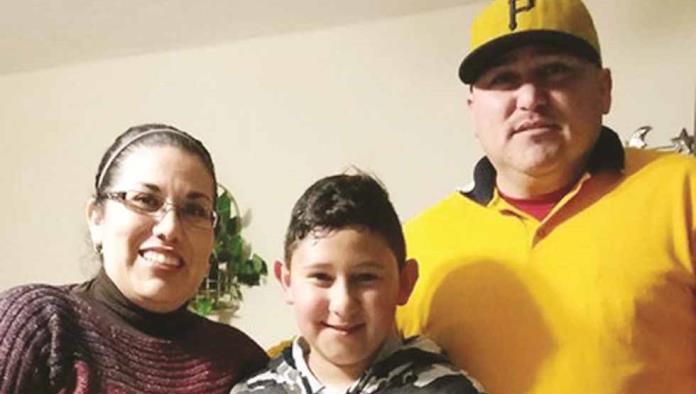 Édgar Gabriel Espinoza cumplió 11 años