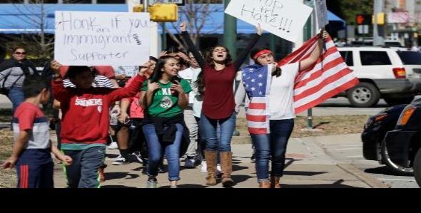 'Sin nosotros, Estados Unidos se paraliza'