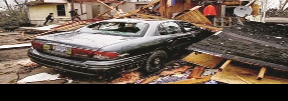 Azotan a Houston seis tornados