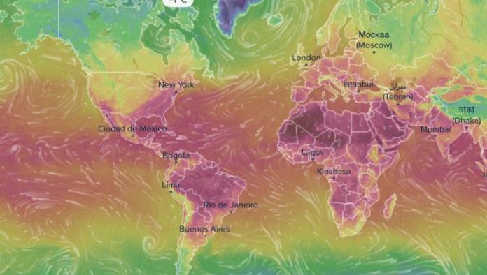 VentuSky, un mapa del clima en tiempo real