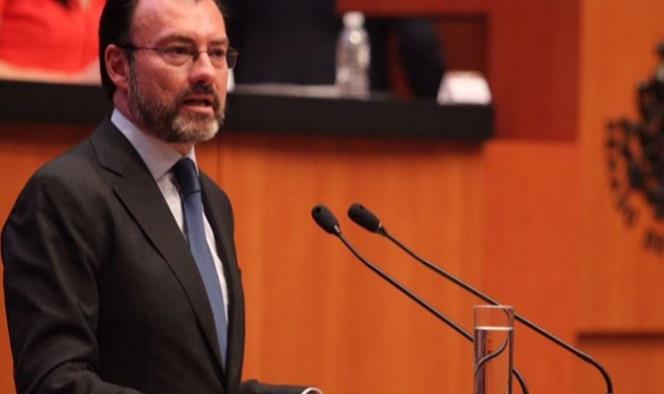 México ya fijó límites en relación con EU: Videgaray