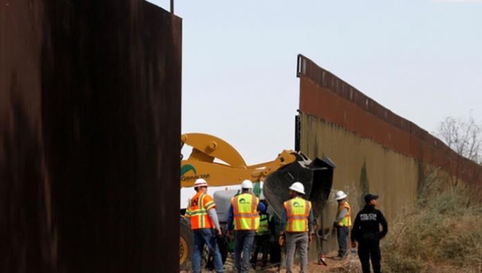 Confirma Casa Blanca visita de Trump a prototipos del muro
