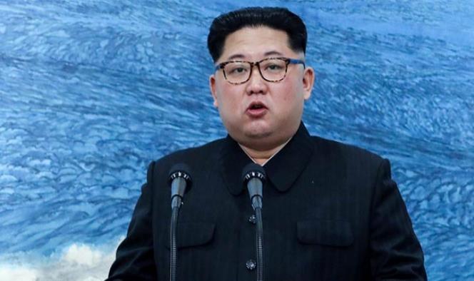 El líder de Norcorea, Kim Jong Un, señaló que lograr la desnuclearización de la península es la posición firme de la parte norcoreana