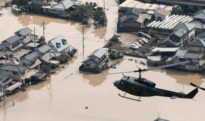 Las tormentas han provocado las peores inundaciones desde 1983.