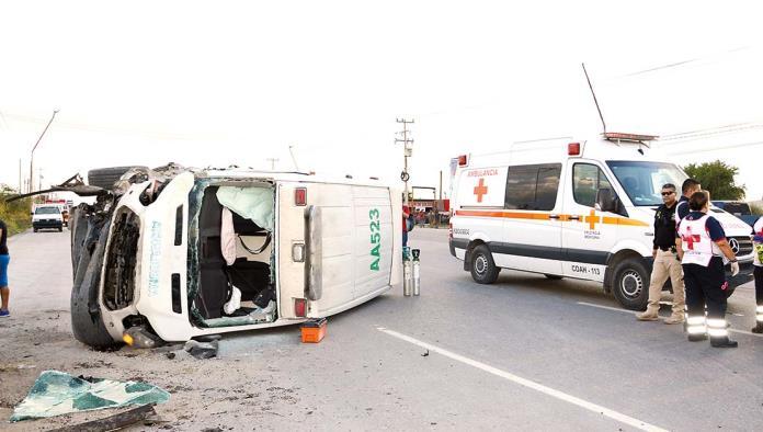 Liberan a chofer de ambulancia