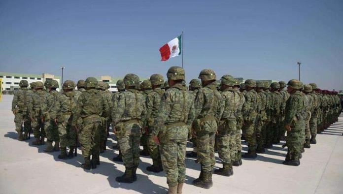 Solicitan información elementos de ejército mexicano, para la incorporación de sus hijos en nivel secundaria.