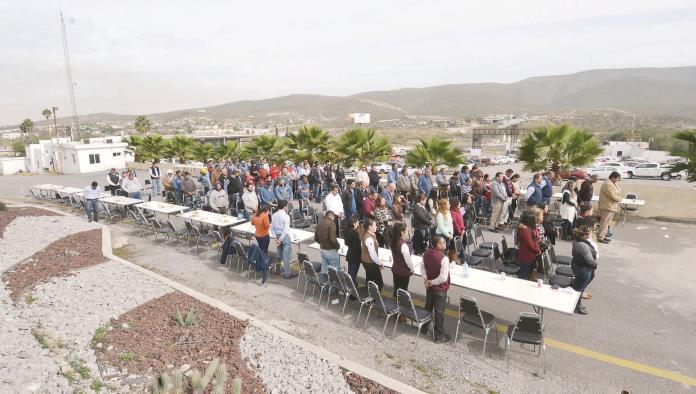 Une fe y devoción a trabajadores del GIK