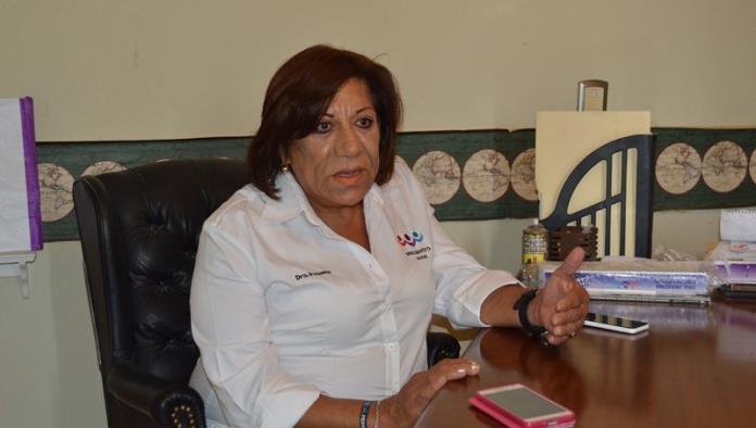 Ex Candidata a la Presidencia Municipal del Partido Encuentro Social Irasema González Treviño