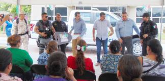 Apoya Sergio Zenón a Seguridad Pública