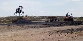 Se recupera minero accidentado