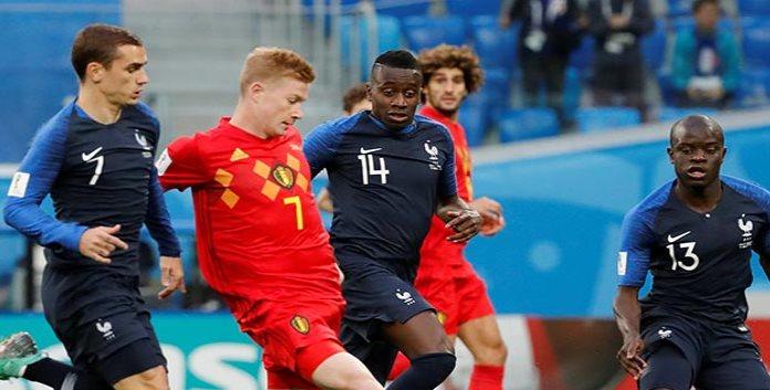 Francia derrotó 1-0 a Bélgica y avanzó a la final de Rusia 2018
