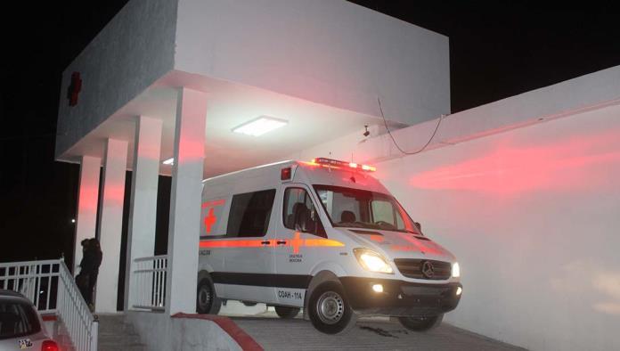La menor recibió atención médica en el Hospital de Cruz Roja.