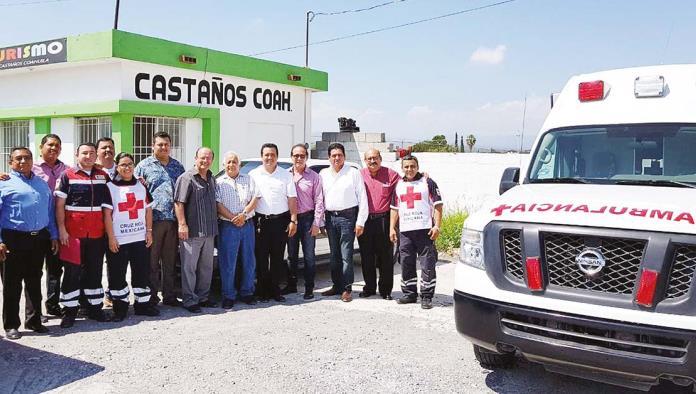 Consultas gratuitas y servicios de ambulancia en la Cruz Roja  para ciudadanos de castaños.