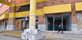 """Usan ruinas como """"hotel de paso"""""""