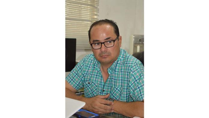 El presidente de la Cámara Nacional de la Industria de la Transformación (Canacintra), Rolando Rivero Ceballos.