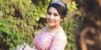 Lesly Guadalupe celebra su debut en sociedad