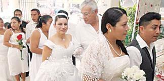 Realizarán en Febrero bodas comunitarias