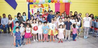 Grupo Industrial Kamar celebra a los pequeños