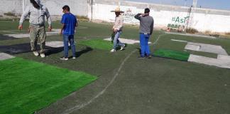 El Templo del Futbol en reparación, Suspenden inicio de jornada.