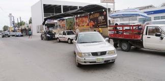 Protesta San Buena invasión de taxis de Nadadores
