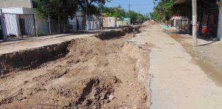 A paso de tortuga obra del Municipio