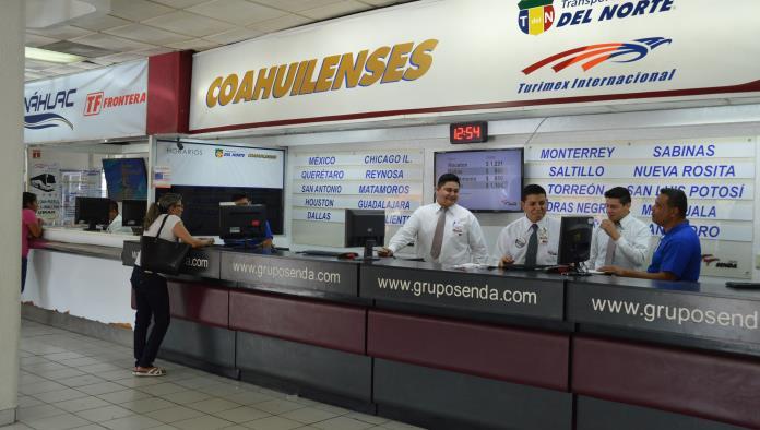 En la Central de Autobuses aún no se refleja el inicio del periodo vacacional de Semana Santa.