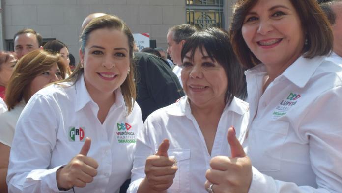Lupita Murgía arrancó ya de forma oficial la campaña en la sede estatal del PRI.