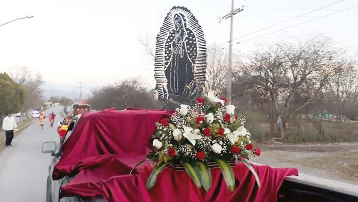 Peregrinación a la Virgen de Guadalupe.