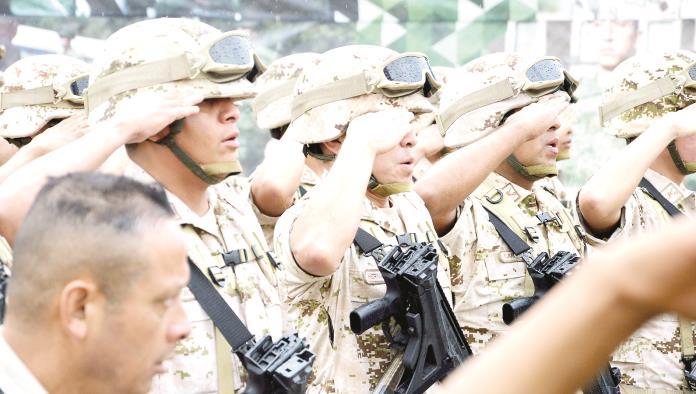 El Secretario de la Defensa Nacional (Sedena), General Salvador Cienfuegos Cepeda