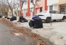 Recolección de  basura  En altos  de Santa Teresa
