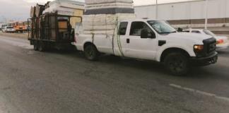 Se impacta  camioneta con Acubus