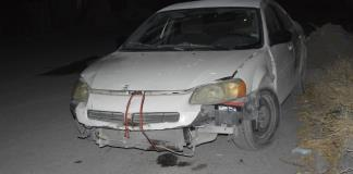 Impacta auto  por ir en contra en la Buenos Aires