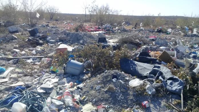 Aumentan basureros clandestinos en Acuña
