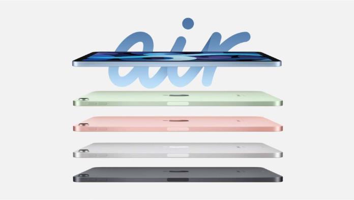 Nuevo iPad Air: Diseño más elegante y delgado, y más colores para elegir