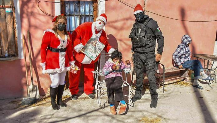 Lleva alegría a los niños por Navidad