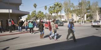 'Clausuran' la  calle Hidalgo