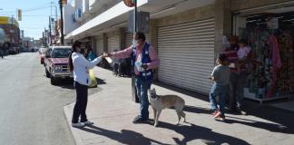 Concientizan  perritos uso  de cubrebocas