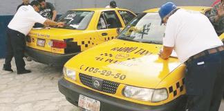 Identificación  periódica a  choferes de taxi