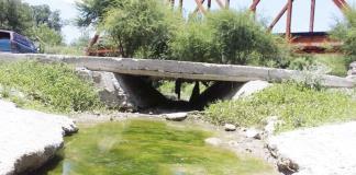 Se seca el río 'Las Pompas'