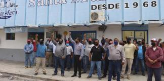 Cesa purificadora a 10 manifestantes